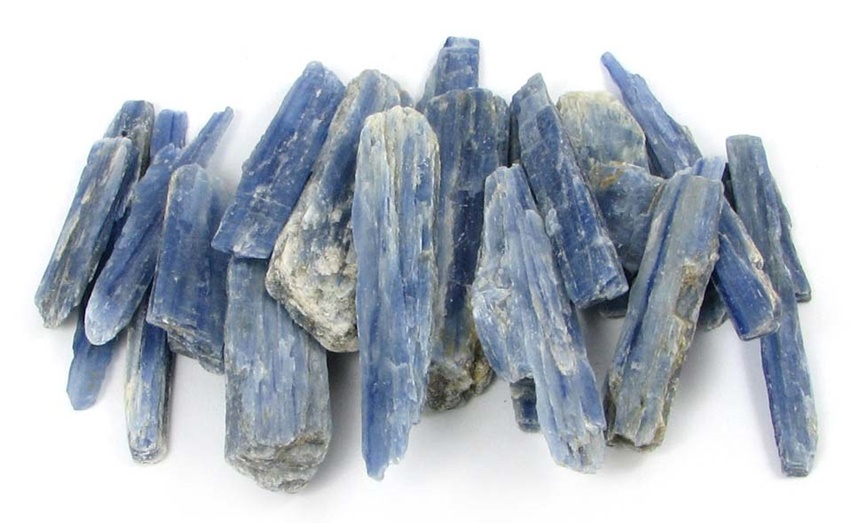 Cyanite pierres - Harmonie Chakras