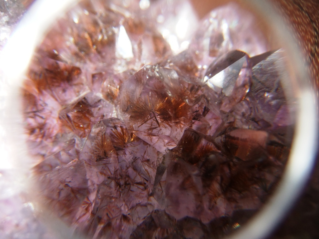 Rutilated Amethyst