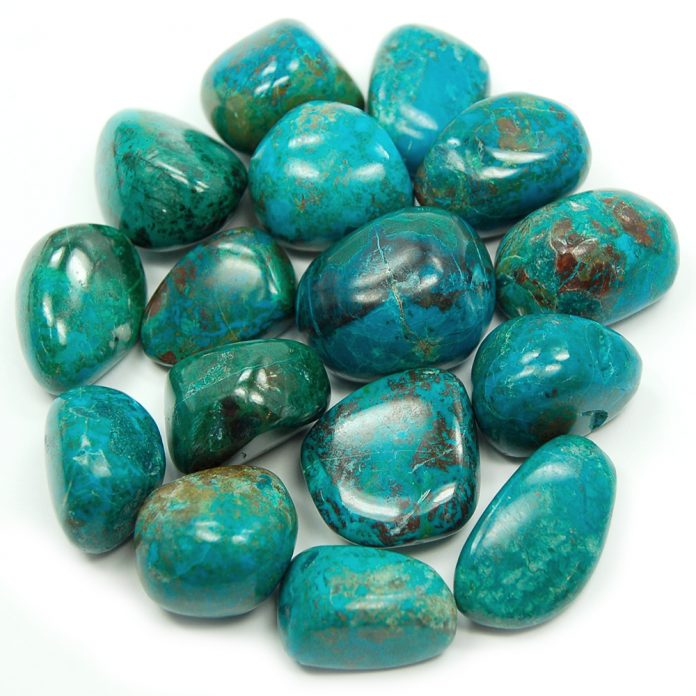 Crystal Combinations for Chrysocolla