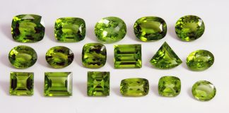 Crystal Combinations for Peridot