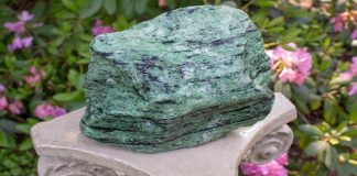 power of ruby in zoisite