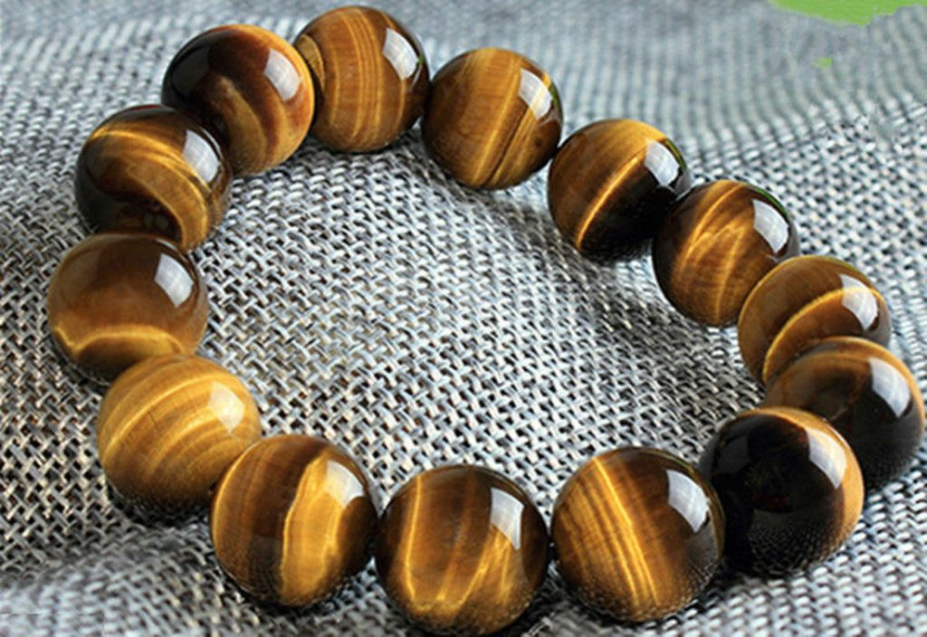 Tiger's Eye Wealth Bracelet
